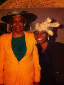 Mrs. Lillian I. Carter and her granddaughter (Photo courtesy of author)